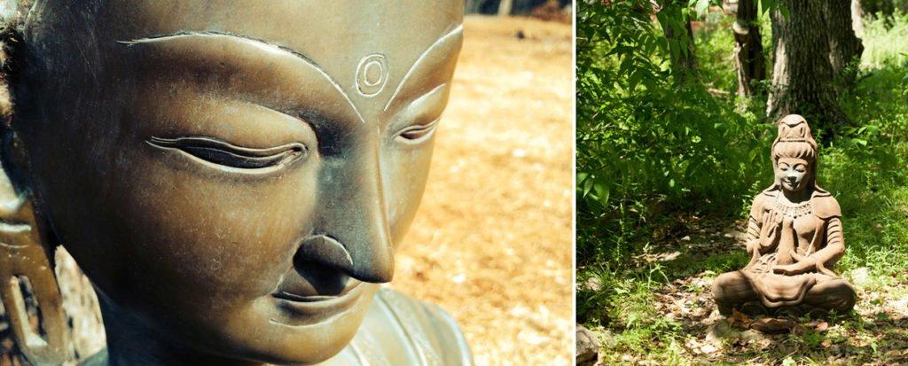 Buddha at dharma ranch