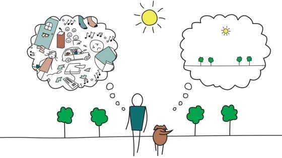 stress reduction through mindfulness class